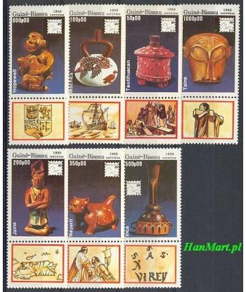 Gwinea Bissau 1989 Mi 1065-1071 Czyste **
