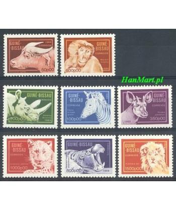 Gwinea Bissau 1989 Mi 1096-1103 Czyste **