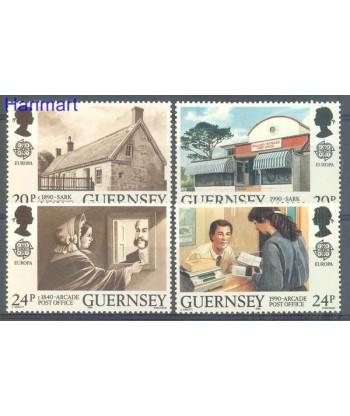 Guernsey 1989 Mi 483-486 Czyste **