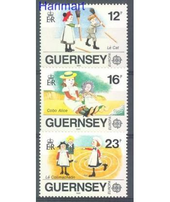 Guernsey 1989 Mi 449-451 Czyste **
