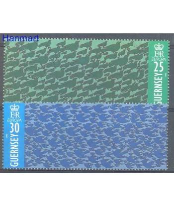 Guernsey 1995 Mi 670-671 Czyste **