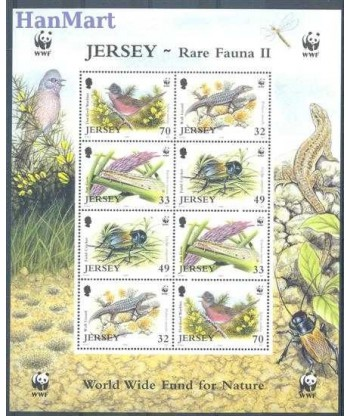 Jersey 2004 Mi 1143-1146 Czyste **