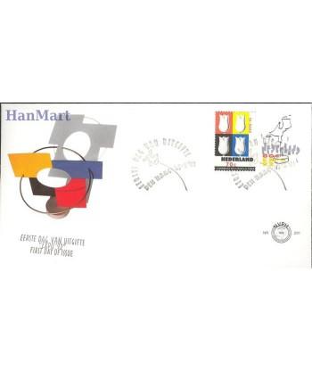 Holandia 1992 Mi 1433-1434 FDC