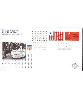 Holandia 1997 Mi 1620-1621 FDC