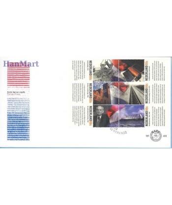 Holandia 1999 Mi 1740-1749 FDC