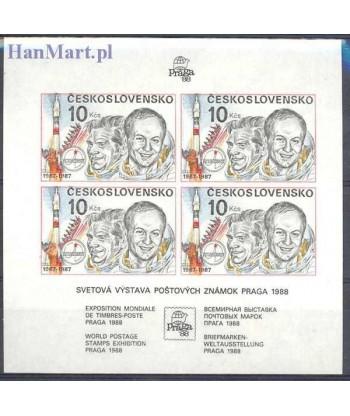 Czechosłowacja 1987 Mi bl 73 Czyste **