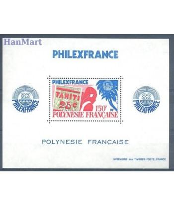 Polinezja Francuska 1982 Mi bl 6 Czyste **