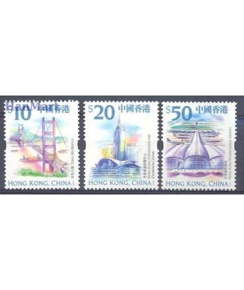 Hong Kong 1999 Mi 910-912 Czyste **