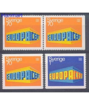 Szwecja 1969 Mi 634-635 Czyste **