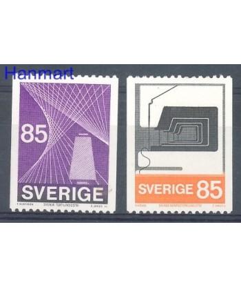 Szwecja 1974 Mi 864-865 Czyste **