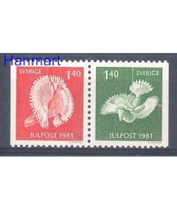 Szwecja 1981 Mi 1173-1174 Czyste **