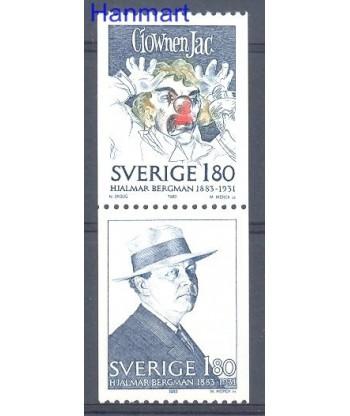 Szwecja 1983 Mi par1249-1250 Czyste **