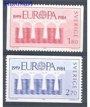 Szwecja 1984 Mi 1270-1271 Czyste **