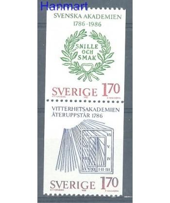 Szwecja 1986 Mi par1382-1383 Czyste **