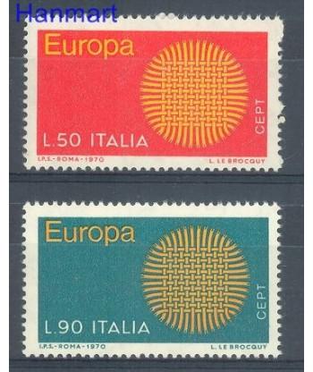 Włochy 1970 Mi 1309-1310 Czyste **