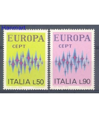 Włochy 1972 Mi 1364-1365 Czyste **