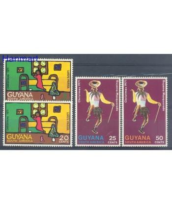 Gujana 1971 Mi 410-413 Czyste **