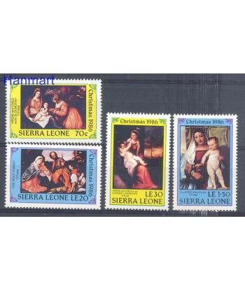 Sierra Leone 1986 Mi 946-949 Czyste **
