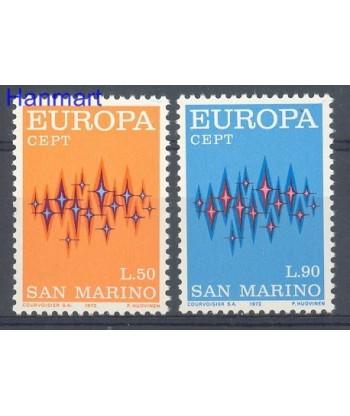 San Marino 1972 Mi 997-998 Czyste **