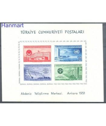 Turcja 1952 Mi  Czyste **