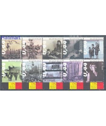 Belgia 2005 Mi 3405-3414 Czyste **