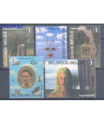 Belgia 2008 Mi 3789-3793 Czyste **