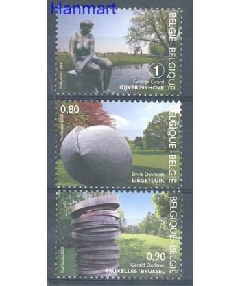 Belgia 2008 Mi 3841-3843 Czyste **